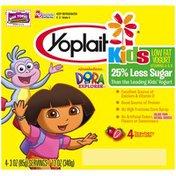 Yoplait Kids Dora the Explorer Strawberry Low Fat Yogurt