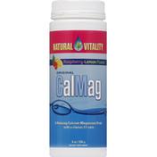 Natural Vitality CalMag, Raspberry-Lemon Flavor