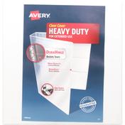 Avery Binder, Clear Cover, Heavy Duty, 1-1/2 Inch