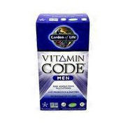 Garden of Life Men Whole Food Multivitamin Optimal Health & Energy Dietary Supplement Vegetarian Capsules