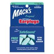 Mack's Original Soft Foam, Ear Plugs