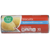 Food Club Buttermilk Flavored Biscuits