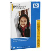 Hewlett Packard Photo Paper, Advanced, Glossy