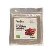 Sunfood Superfoods Cinnamon Raw Vegan Coconut Wraps