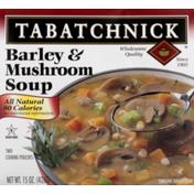 Tabatchnick Barley & Mushroom Soup (Frozen)