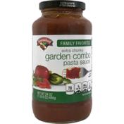 Hannaford Extra Chunky Garden Combo Pasta Sauce