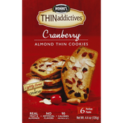 Nonni's Cookies, Almond Thin, Cranberry