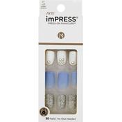 imPRESS Press-On Manicure, Short Length, I'd Rather Be