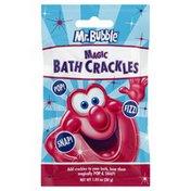 Mr. Bubble Bath Crackles, Magic