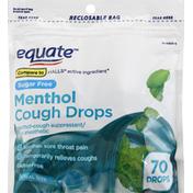 Equate Cough Drops, Sugar Free, Menthol