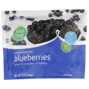 Food Club Unsweetened Blueberries