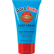 Gold Bond Triple-Action Foot Cream