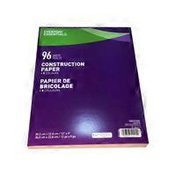 Essential Everyday 96 Page Construction Paper