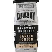 Cowboy Briquets, Hardwood, All Natural