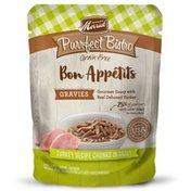 Merrick Purrfect Bistro Bon Appetits Grain-Free Turkey Recipe Chunks in Gravy