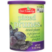 Our Family Pitted Prunes Dried Plums