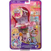Polly Pocket Toy, Candy Cutie Gumball Compact, Pop & Swap, Age 4+