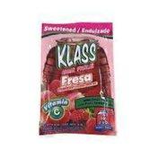Klass Drink Mix, Fresa Strawberry