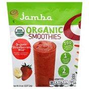 Jamba Smoothies, Organic, Strawberries Wild