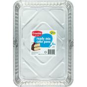 Krasdale Cake Pans, Ready Mix, 4 Pack