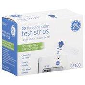 GE Blood Glucose Test Strips