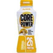 Core Power Milk Shake, High Protein, Banana