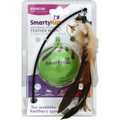 SmartyKat Electronic Motion Toy, Feather Whirl