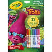 Crayola Coloring & Activity Pad DreamWorks Trolls