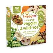 Happy Tot Veggies & Wild Rice with Mushrooms & Parmesan