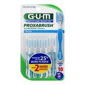 GUM Proxabrush Go-Betweens Cleaners Wide - 10 CT