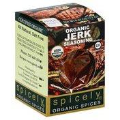 Spicely Organics Seasoning, Organic, Jerk