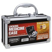 Vaultz Medicine Case, Locking
