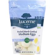 Lucerne Eggs, Medium, Peeled, Hard-Cooked