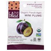 Fruit Bliss Plums, Organic French Agen, Mini