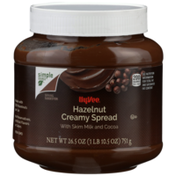 Hy-Vee Hazelnut Creamy Spread With Skim Milk And Cocoa