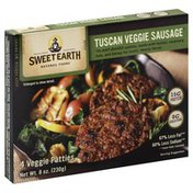 Sweet Earth Tuscan Veggie Sausage Patties