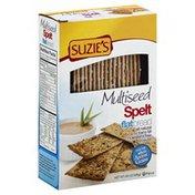 Suzie's Flat Bread, Spelt, Multiseed