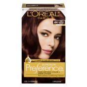 L'Oreal Superior Preference Fade-Defying Color + Shine System 4M Dark Mahogany Brown