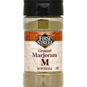 First Street Marjoram, Ground