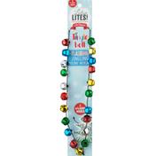 Lotsa Lites Holiday Necklace, Jingle Bell