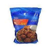 Meijer Buffalo Style Boneless Chicken Bites Breaded Glazed Buffalo Style White Meat Chicken Chunks