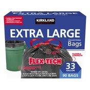 Kirkland Signature Flex Tech Drawstring Trash Bag