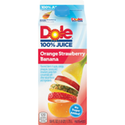 Dole Orange Strawberry Banana Flavored Blend Of Juices