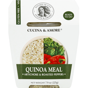 Cucina & Amore Quinoa Meal, Artichokes & Roasted Peppers