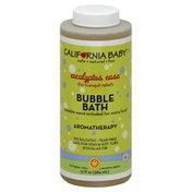 California Baby Bubble Bath, Aromatherapy, Eucalyptus Ease