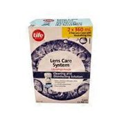 Life Brand Lens Care System Twin Pack