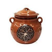 Large Clay Pot With Lid