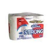 Meijer Double Rolls Ultra Strong Premium Bath Tissue