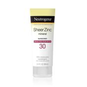 Neutrogena® Sheer Zinc Dry-Touch Sunscreen Broad Spectrum SPF 30