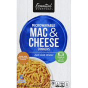 Essential Everyday Macaroni & Cheese Dinners, Microwavable
